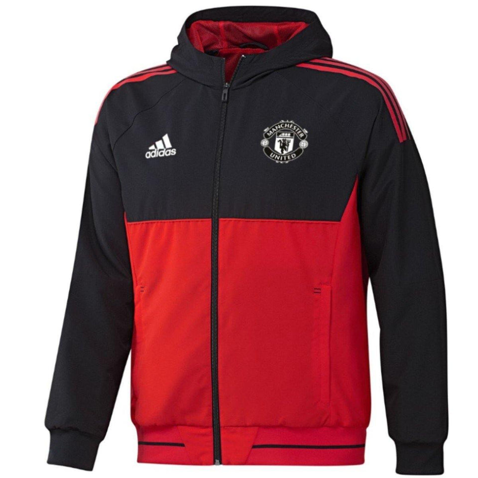 Manchester United Ucl Presentation Soccer Tracksuit 2017/18 - Adidas - SoccerTracksuits.com