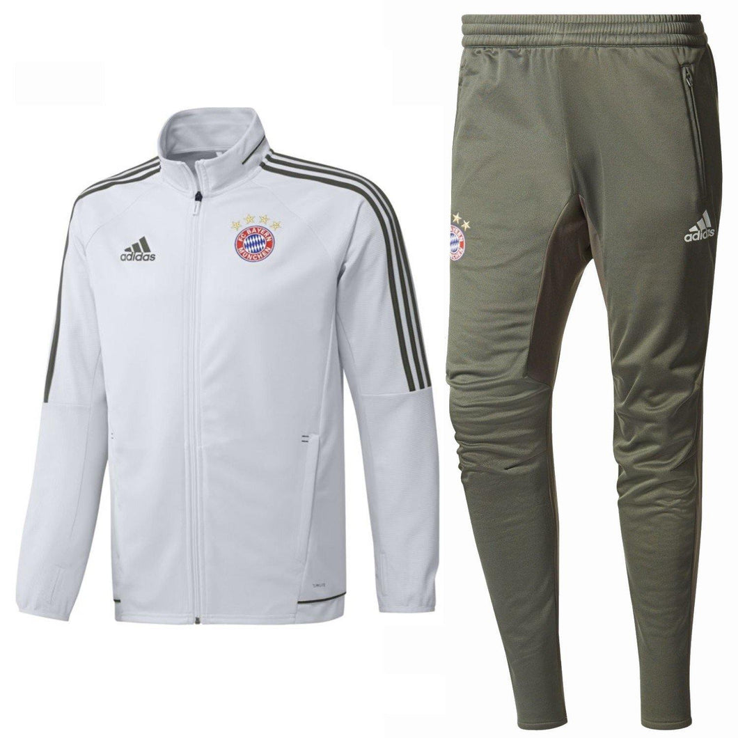 Bayern Munich Ucl Training Soccer Tracksuit 2017/18 - Adidas - SoccerTracksuits.com