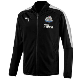 Newcastle United Training Presentation Soccer Tracksuit 2017/18 Black - Puma - SoccerTracksuits.com