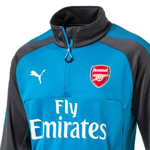 Arsenal FC blue Technical Training Soccer Tracksuit 2017/18 - Puma - SoccerTracksuits.com
