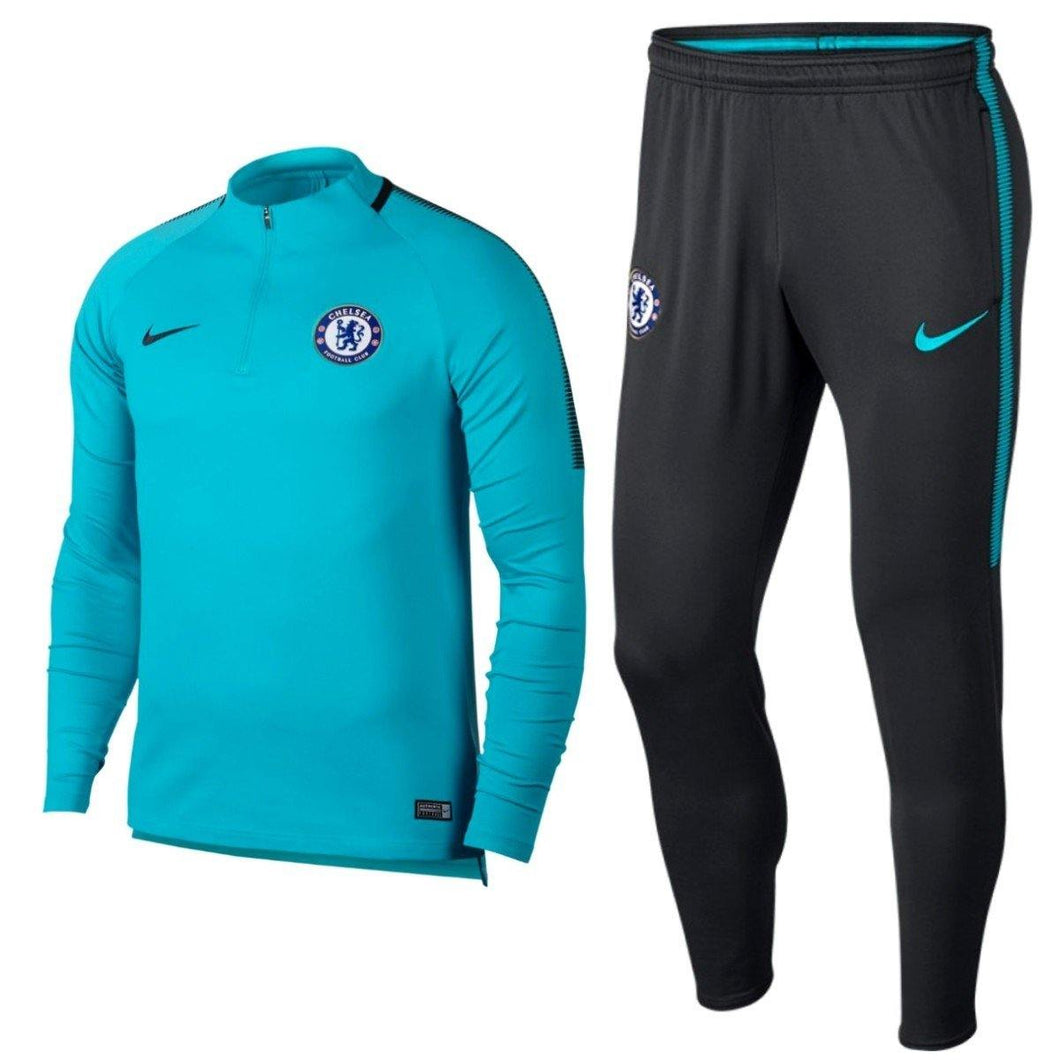 Chelsea Ucl Training Technical Soccer Tracksuit 2017/18 - Nike - SoccerTracksuits.com