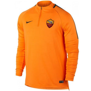As Roma Ucl Training Technical Soccer Tracksuit 2017/18 - Nike - SoccerTracksuits.com