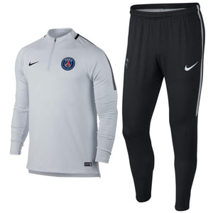 Paris Saint Germain Ucl Training Technical Soccer Tracksuit 2017/18 - Nike - SoccerTracksuits.com