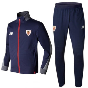 Athletic Club Bilbao Presentation Soccer Tracksuit 2017/18 - New Balance - SoccerTracksuits.com