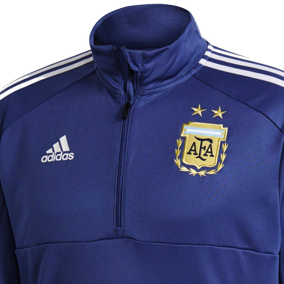 Argentina technical training Soccer Tracksuit 2018/19 - Adidas - SoccerTracksuits.com