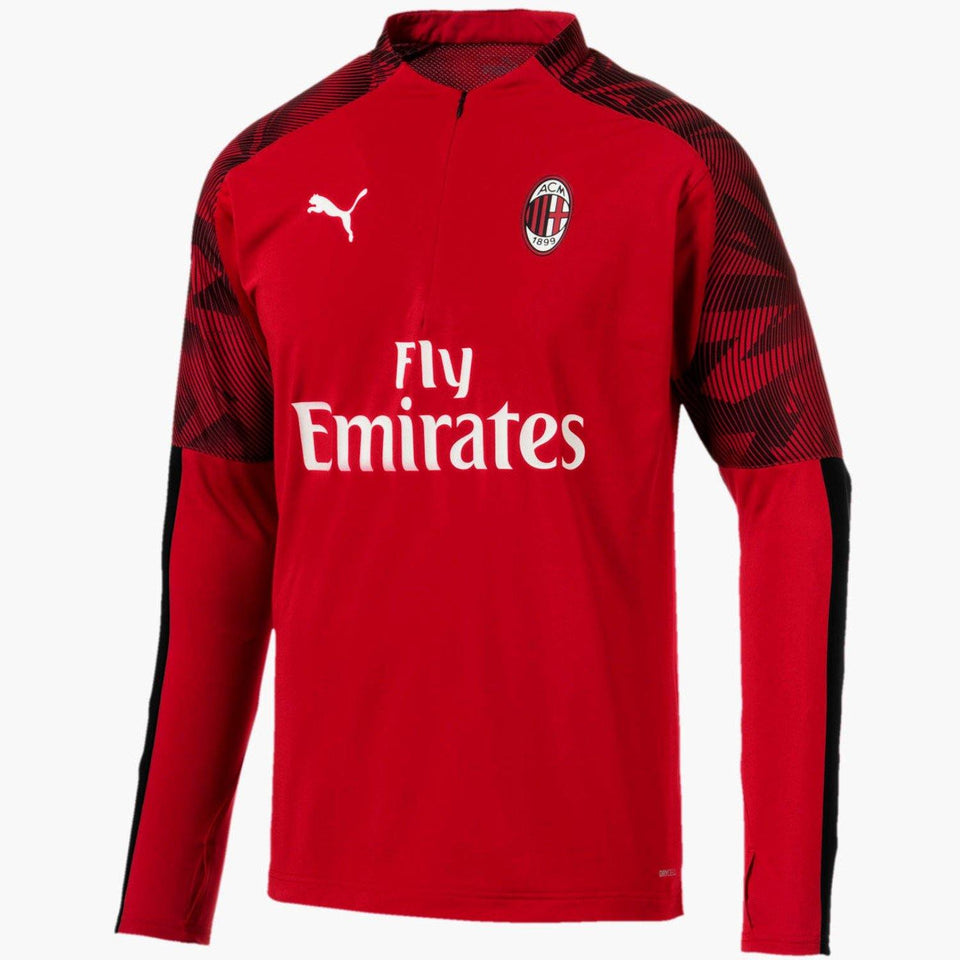 AC Milan soccer training technical tracksuit 2019/20 red - Puma