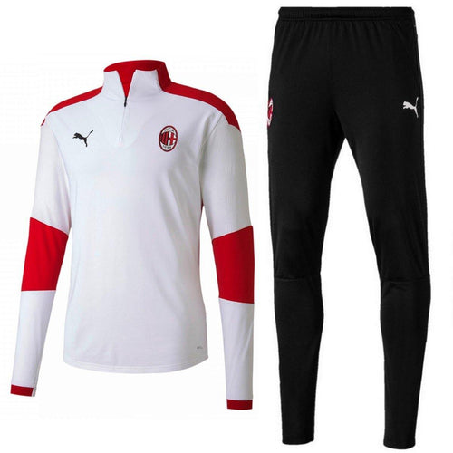 AC Milan white training technical tracksuit 2020/21 - Puma