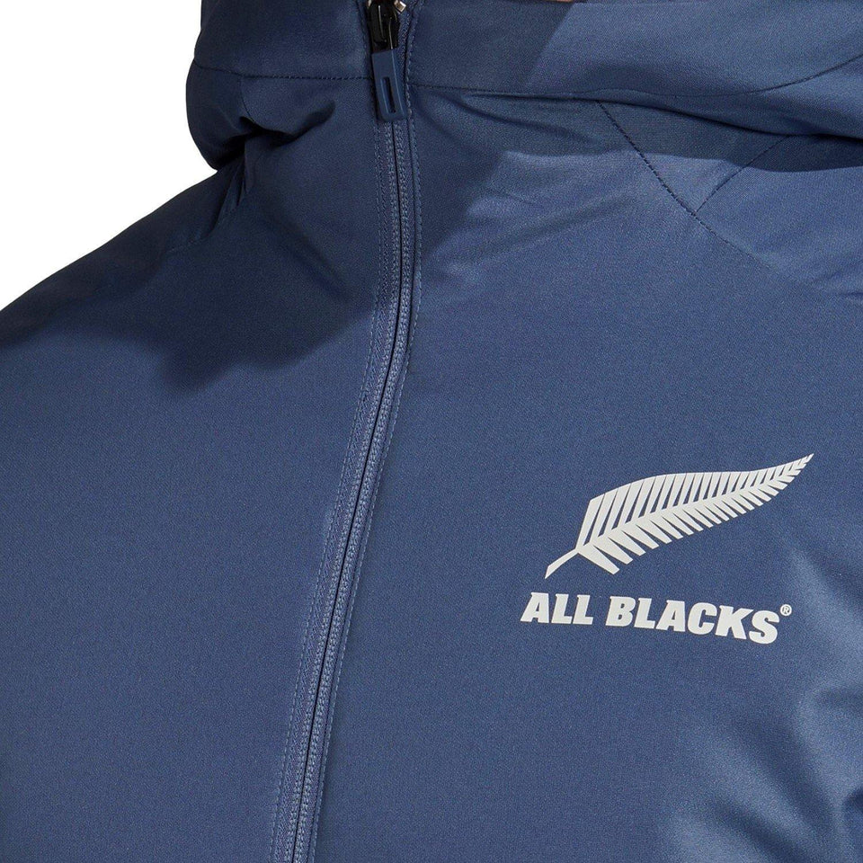 All Blacks rugby long bench padded jacket 2020/21 - Adidas