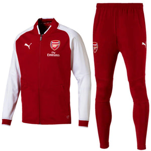 3287b19ad88a0a Arsenal soccer red training presentation tracksuit 2018 - Puma -  SoccerTracksuits.com
