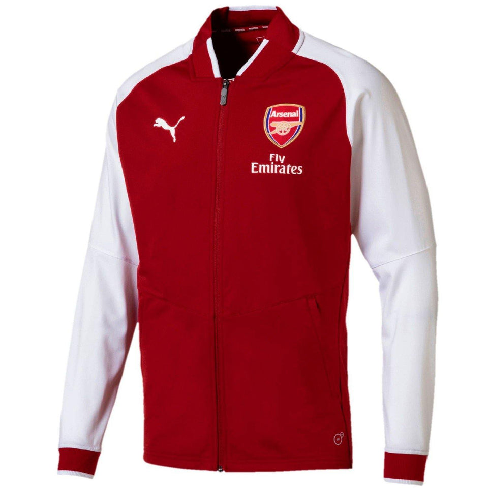 f4c406d132e4b5 ... Arsenal soccer red training presentation tracksuit 2018 - Puma -  SoccerTracksuits.com ...