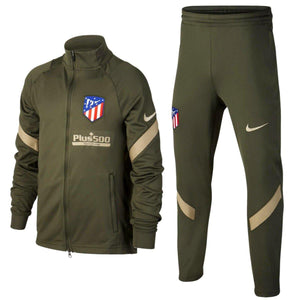 Kids - Atletico Madrid green presentation Soccer tracksuit 2020/21 - Nike
