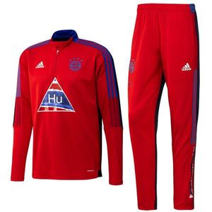 Bayern Munich HR training technical soccer tracksuit 2021 - Adidas