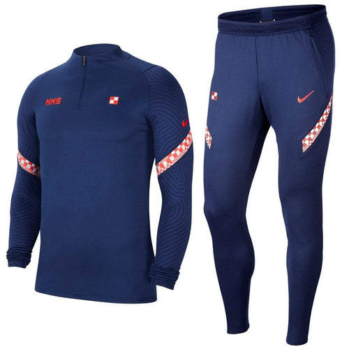 Croatia navy training technical Soccer tracksuit 2020/21 - Nike