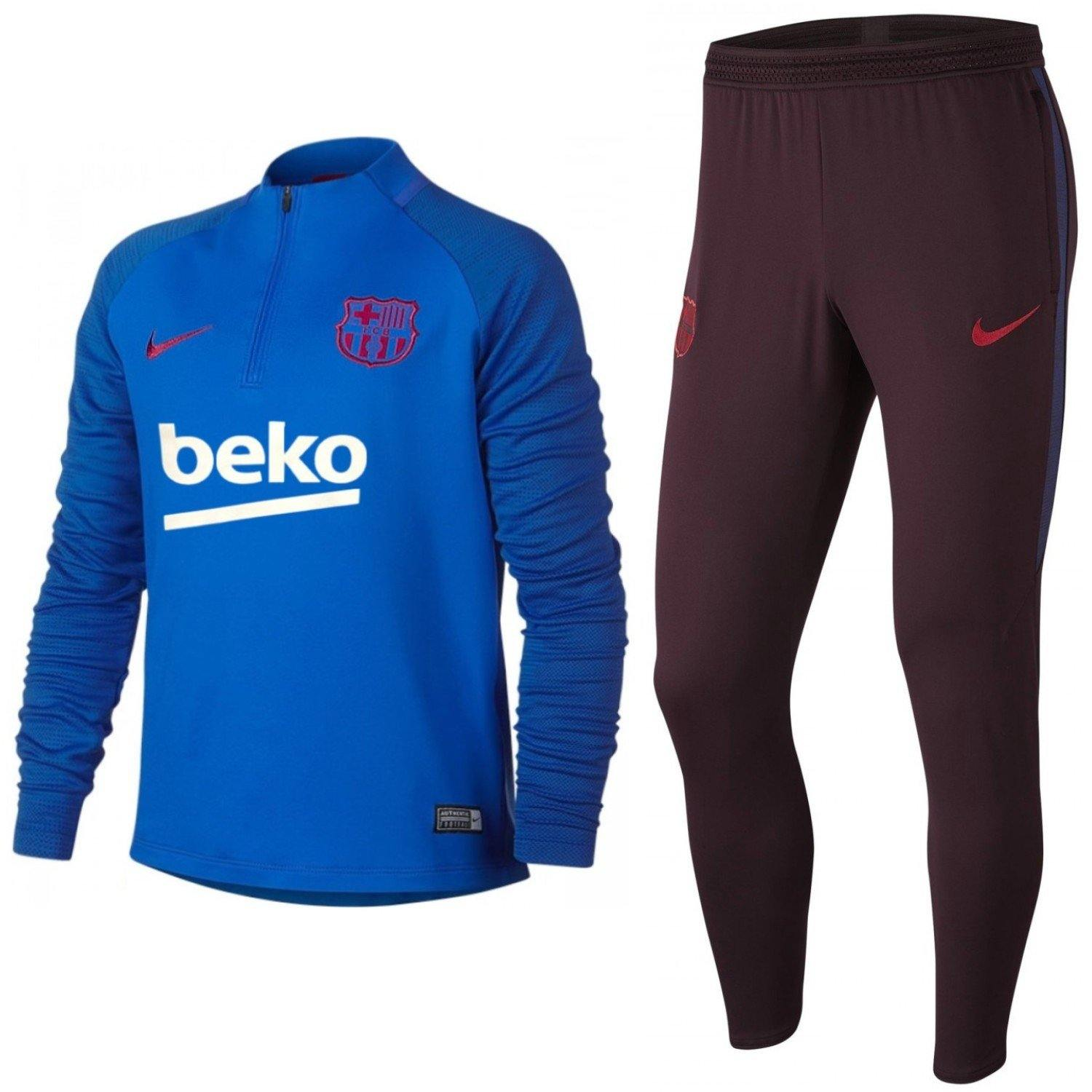 Buy now FC Barcelona training technical soccer tracksuit