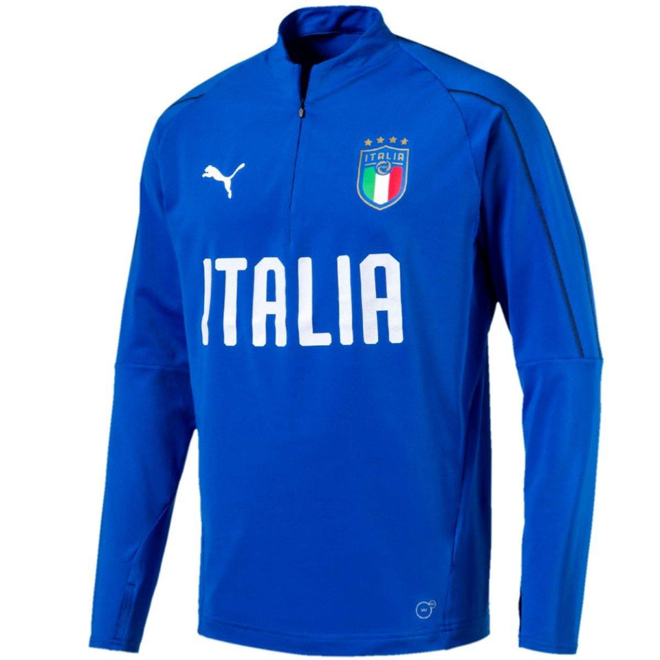 Italy soccer royal technical training sweat top 2018/19 - Puma - SoccerTracksuits.com