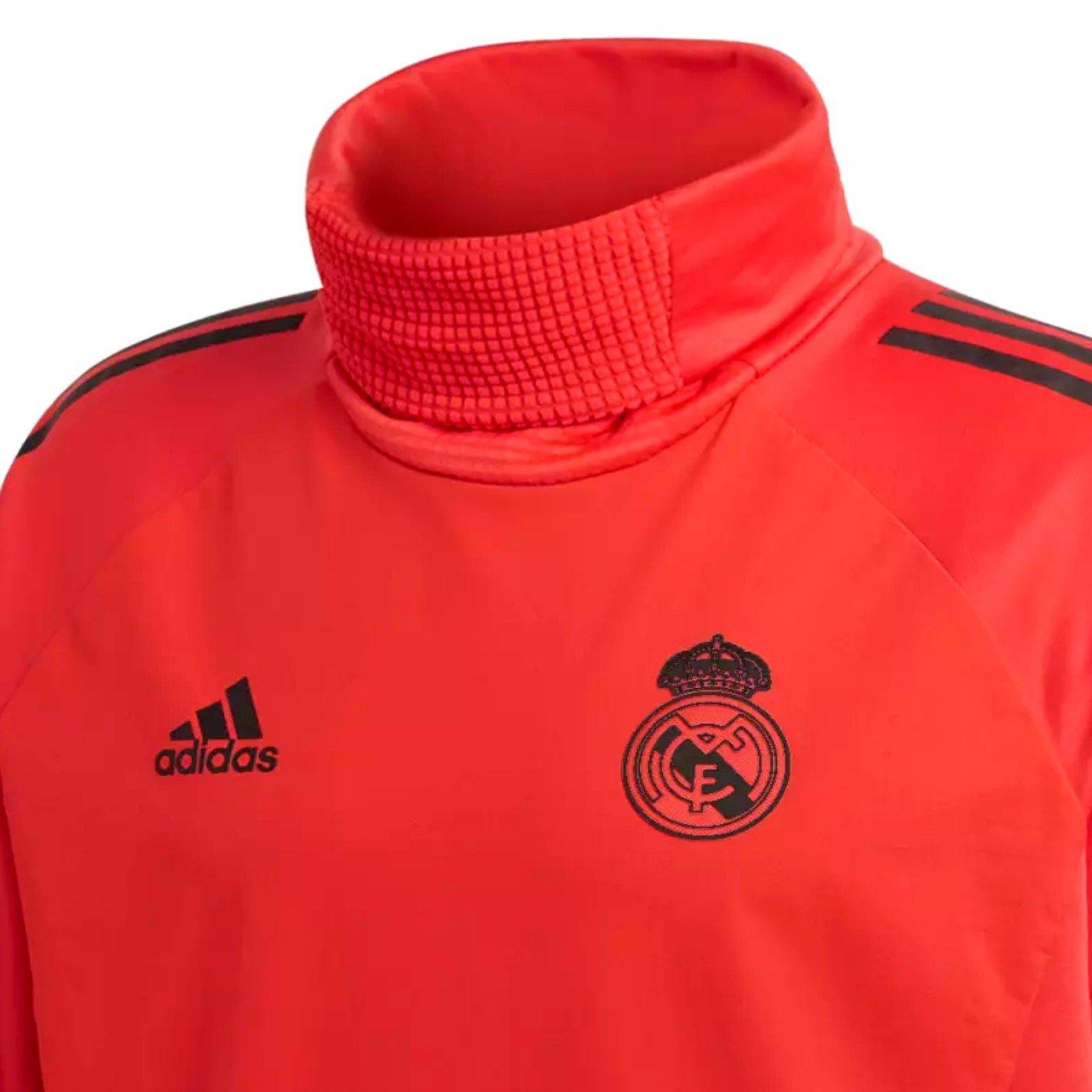 98821096a ... Real Madrid UCL training technical soccer sweatshirt 2018 19 - Adidas.  Next slide