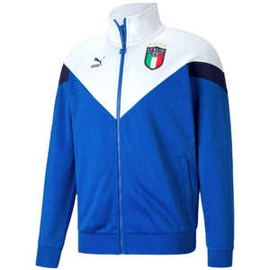 Italy Iconic Fans presentation Soccer tracksuit 2020 blue - Puma