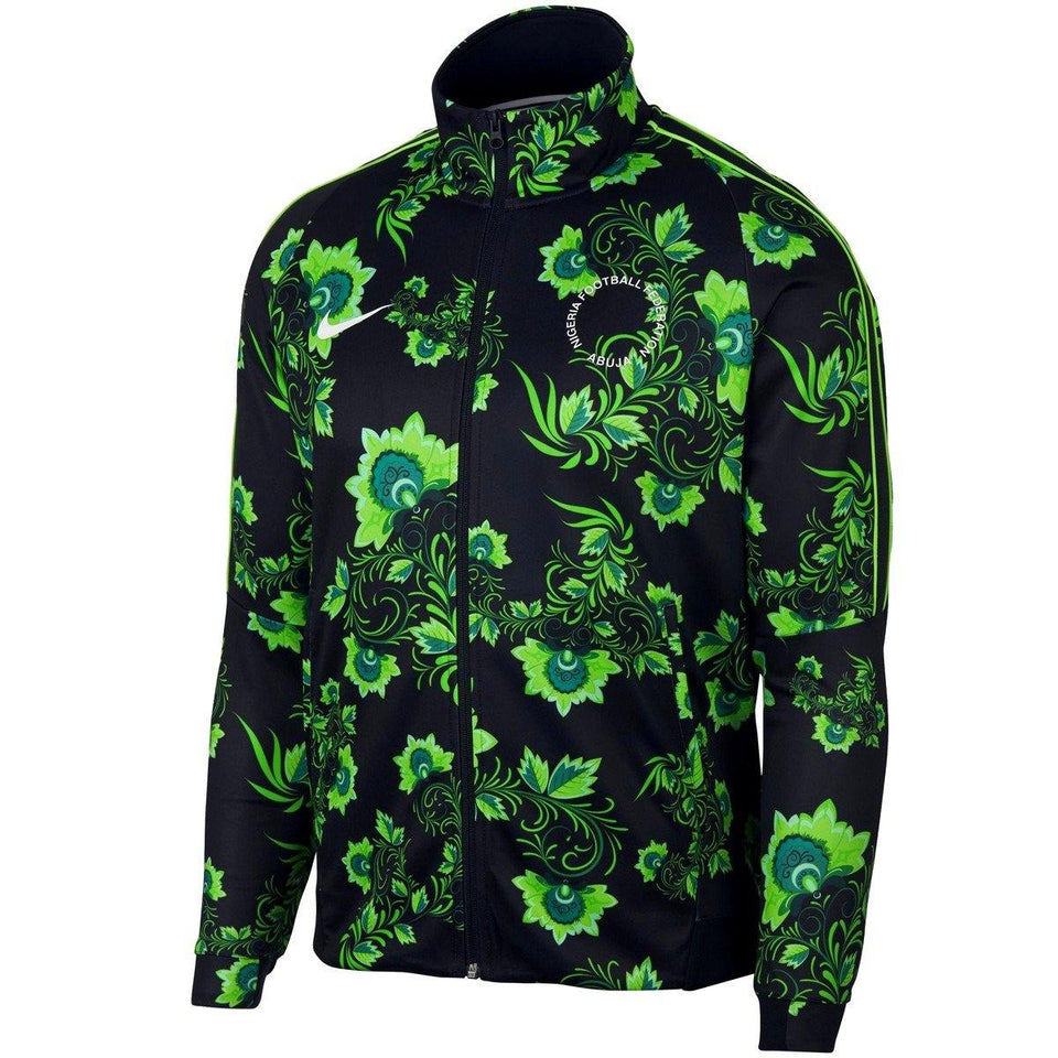 Nigeria World Cup Tribute presentation soccer jacket 2018/19 - Nike - SoccerTracksuits.com