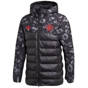 Manchester United soccer down padded jacket 2019/20 - Adidas - SoccerTracksuits.com