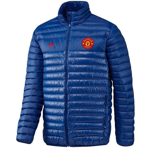 Manchester United soccer presentation down padded jacket 2016/17 - Adidas - SoccerTracksuits.com