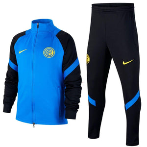 Kids - Inter Milan training presentation Soccer tracksuit 2020/21 - Nike