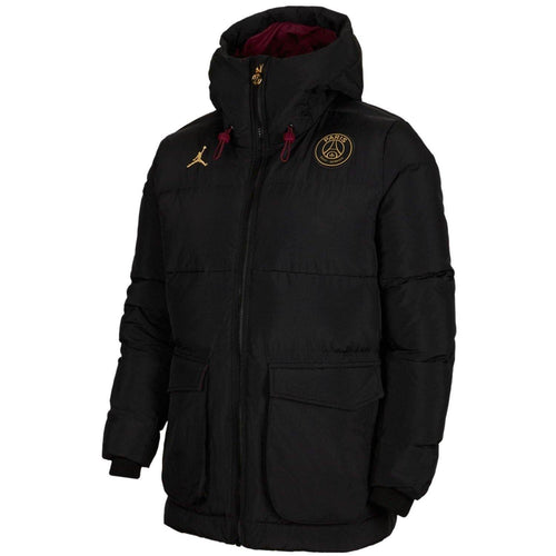 Jordan x PSG black Parka down padded jacket 2020/21 - Jordan