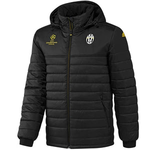 Juventus winter training bench soccer jacket UCL 2016/17 - Adidas - SoccerTracksuits.com