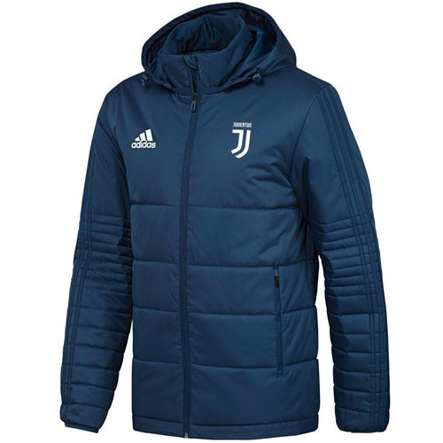Juventus winter training bench soccer jacket 2018 - Adidas - SoccerTracksuits.com