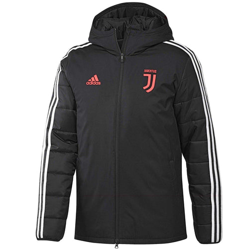 Juventus winter training bench soccer jacket 2019/20 - Adidas - SoccerTracksuits.com