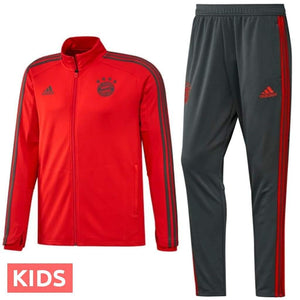 6ebf308f3226 Kids - Bayern Munich Training Players Soccer Tracksuit 2018 19 - Adidas -  SoccerTracksuits.