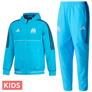 Olympique de Marseille Präsentation Trainingsanzug 201415