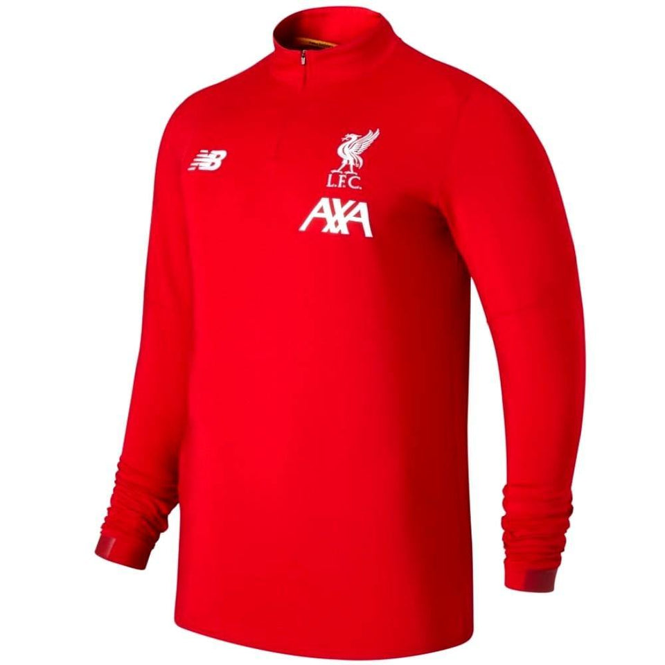 Liverpool FC soccer training technical sweat top 2019/20 - New Balance - SoccerTracksuits.com