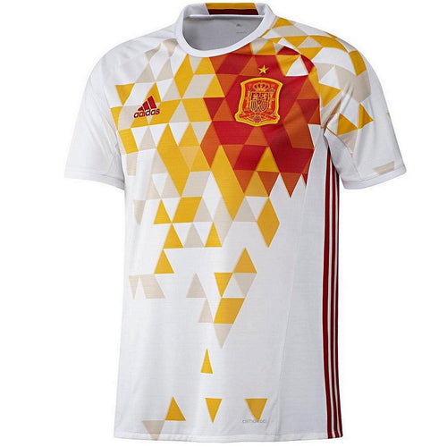 Spain national team Away soccer jersey 2016/17 - Adidas - SoccerTracksuits.com