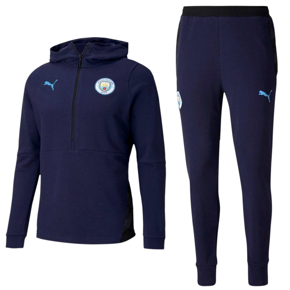 Manchester City Casual hooded presentation tracksuit 2020/21 - Puma