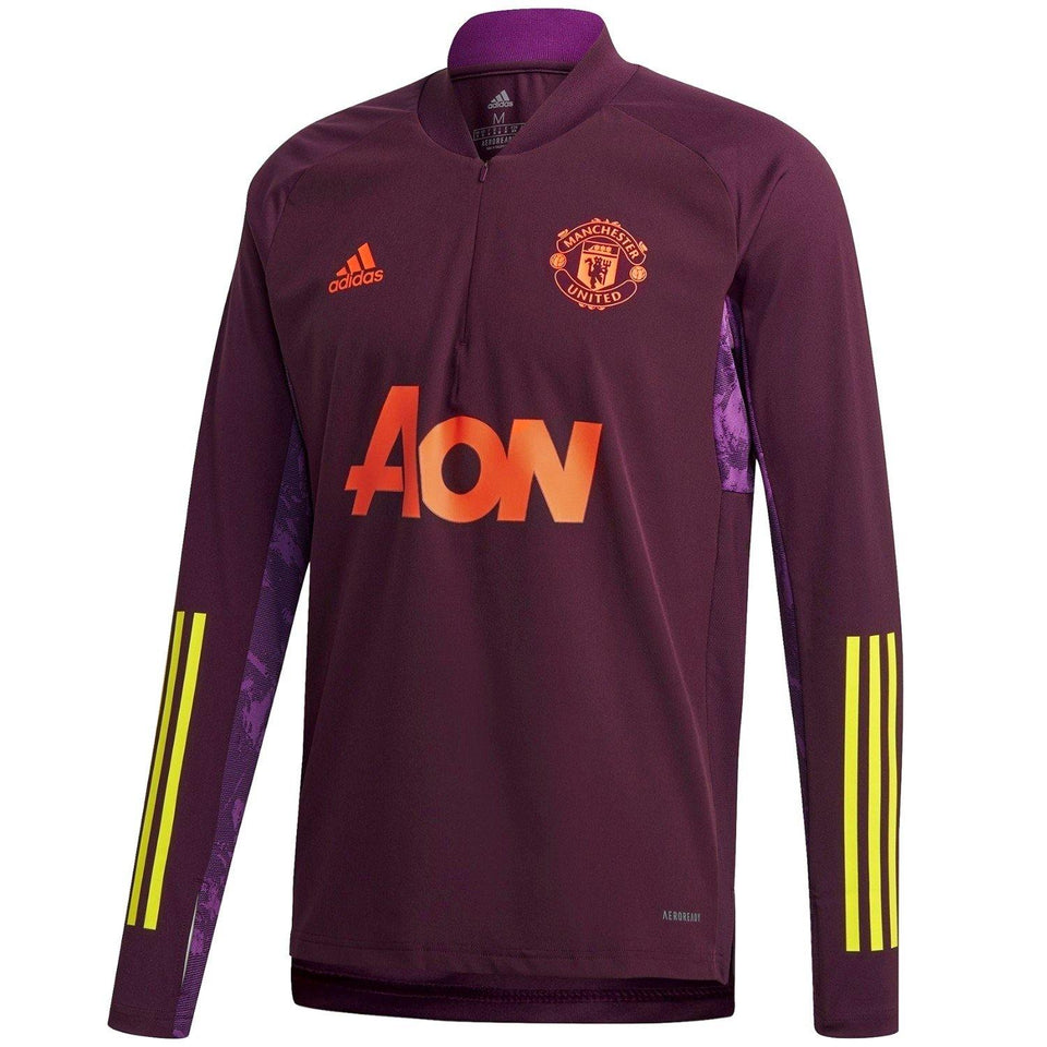 Manchester United training technical soccer tracksuit UCL 2020/21 - Adidas