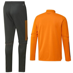 Manchester United orange training technical tracksuit 2021 - Adidas