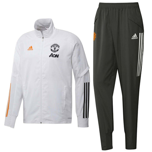 Manchester United presentation Soccer tracksuit 2020/21 - Adidas