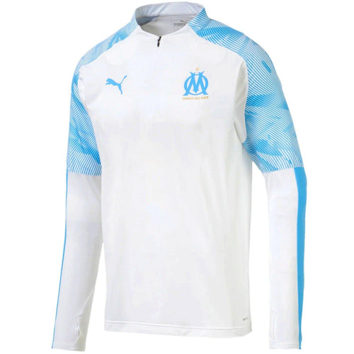 Olympique Marseille white technical training top 2019/20 - Puma
