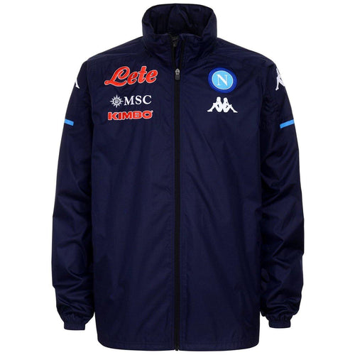 SSC Napoli soccer training rain jacket 2020/21 - Kappa