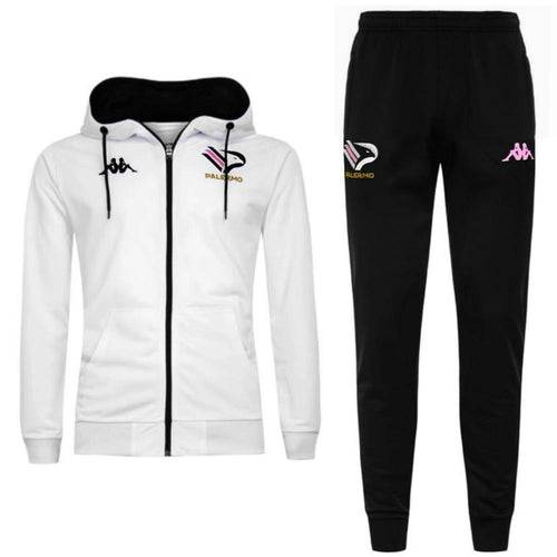 Palermo FC hooded presentation soccer tracksuit 2020/21 - Kappa