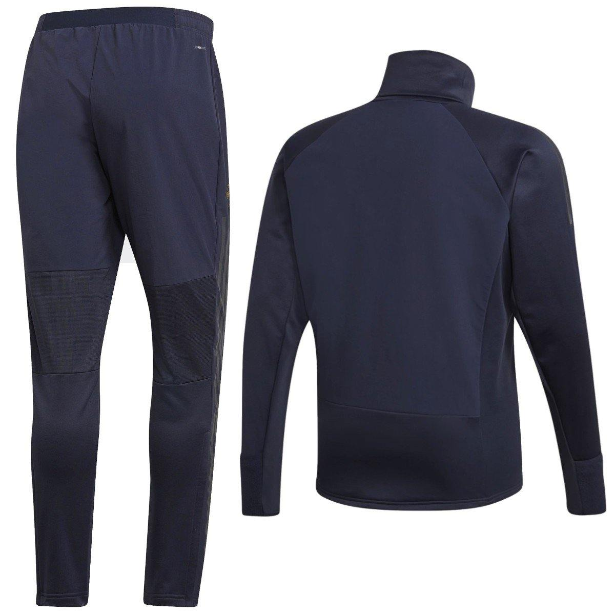 6d7f6757689 Manchester United training technical soccer tracksuit UCL 2018 19 - Ad –  SoccerTracksuits.com