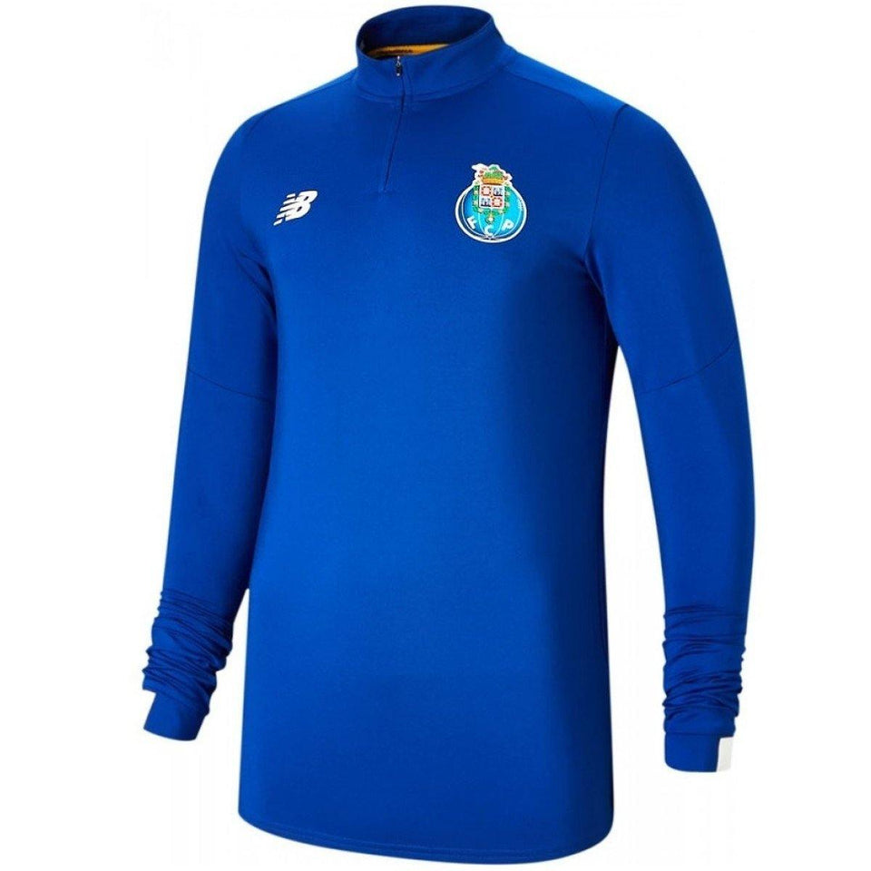 FC Porto training Tech soccer tracksuit 2019/2020 blue/black - New Balance - SoccerTracksuits.com