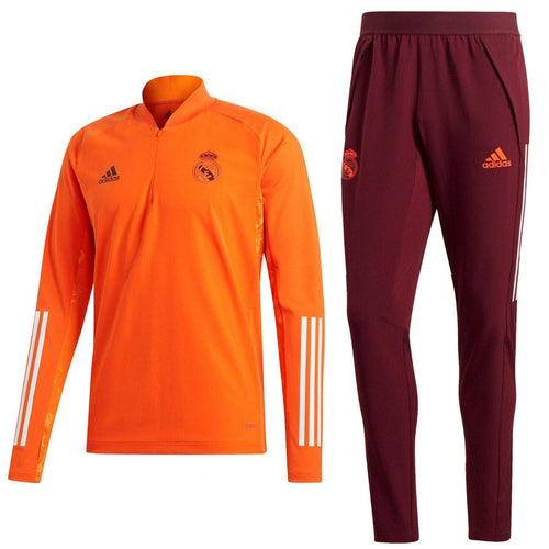 Real Madrid training technical soccer tracksuit UCL 2021 - Adidas