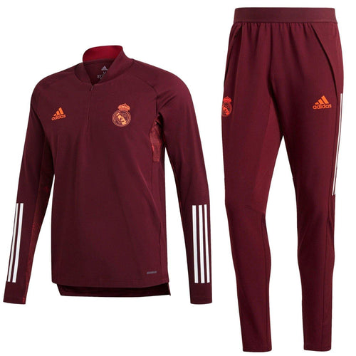 Real Madrid training technical soccer tracksuit UCL 2020/21 - Adidas