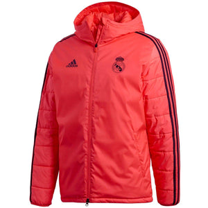 Real Madrid UCL soccer training technical bench jacket 2018 19 - Adidas 63b8093b0
