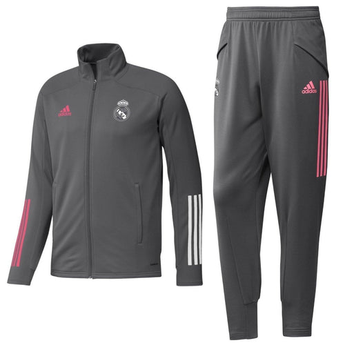 Real Madrid training presentation Soccer tracksuit 2020/21 - Adidas