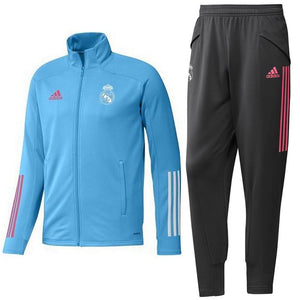 Real Madrid training presentation Soccer tracksuit 2021 - Adidas