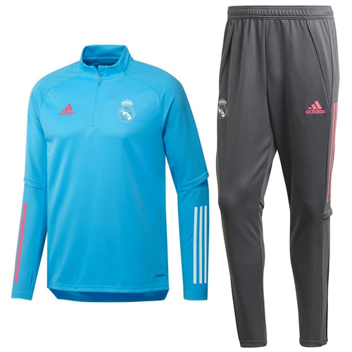 Real Madrid soccer technical training tracksuit 2021 - Adidas