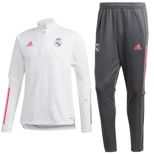 Real Madrid soccer technical training tracksuit 2020/21 - Adidas
