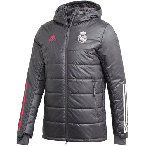 Real Madrid winter training bench soccer jacket 2020/21 - Adidas